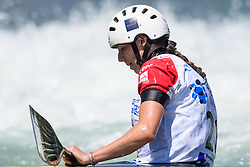 Margaux HENRY of France during the Canoe Single (WC1) Womens Final race of 2019 ICF Canoe Slalom World Cup 4, on June 30, 2019 in Tacen, Ljubljana, Slovenia. Photo by Sasa Pahic Szabo / Sportida