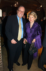 MICHAEL ANCRAM QC MP and his wife LADY JANE ANCRAM wife of Michael Ancram MP at the annual House of Lords and House of Commons Parliamentary Palace of Varieties in aid of Macmillan Cancer Support held at St.John's Smith Square, London W1 on 1st February 2007.<br /><br />NON EXCLUSIVE - WORLD RIGHTS