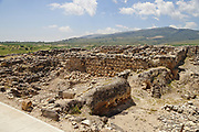 Tel Hazor (also Hatzor, Tell el-Qedah‎), is an archaeological tell at the site of ancient Hazor, located in Israel, Upper Galilee. In the Middle Bronze Age (around 1750 BC) and the Israelite period (ninth century BC), Hazor was the largest fortified city in the country and one of the most important in the Fertile Crescent. It maintained commercial ties with Babylon and Syria, and imported large quantities of tin for the bronze industry.