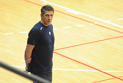 Slobodan Kovac, head coach of Slovenia during friendly volleyball match between National teams of Serbia and Slovenia, on August 18, 2017, in Belgrade, Serbia. Photo by Nebojsa Parausic / MN press / Sportida