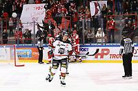2020-03-07   Ljungby, Sverige: Troja gör 1-0 under matchen i Hockeyettan mellan IF Troja/Ljungby och Bodens HF i Ljungby Arena ( Foto av: Fredrik Sten   Swe Press Photo )<br /> <br /> Nyckelord: Ljungby, Ishockey, Hockeyettan, Ljungby Arena, IF Troja/Ljungby, Bodens HF, fstb200307, playoff, kval