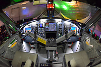 The modern cockpit of the 400 Series Viking Twin Otter