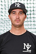 Tyron Bartorillo.<br /> New Zealand Diamond Blacks Baseball Team headshots.<br /> Llloyd Elsmore Park, Pakuranga, Auckland, New Zealand. 4 February 2016.<br /> Copyright photo: Andrew Cornaga / www.photosport.nz