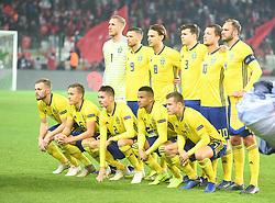 November 17, 2018 - Konya, Türkiye - Sweden team  during Turkey vs. Sweden UEFA Nations League, League B game at Konya, Turkey, 17th Nov., 2018 (Credit Image: © Abdurrahman Antakyali/Depo Photos via ZUMA Wire)