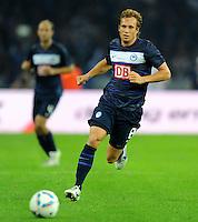 1. Oktober 2011: Berlin, Olympiastadion: Fussball 1. Bundesliga, 8. Spieltag: Hertha BSC - 1. FC Koeln: Berlins Andreas Ottl am Ball.