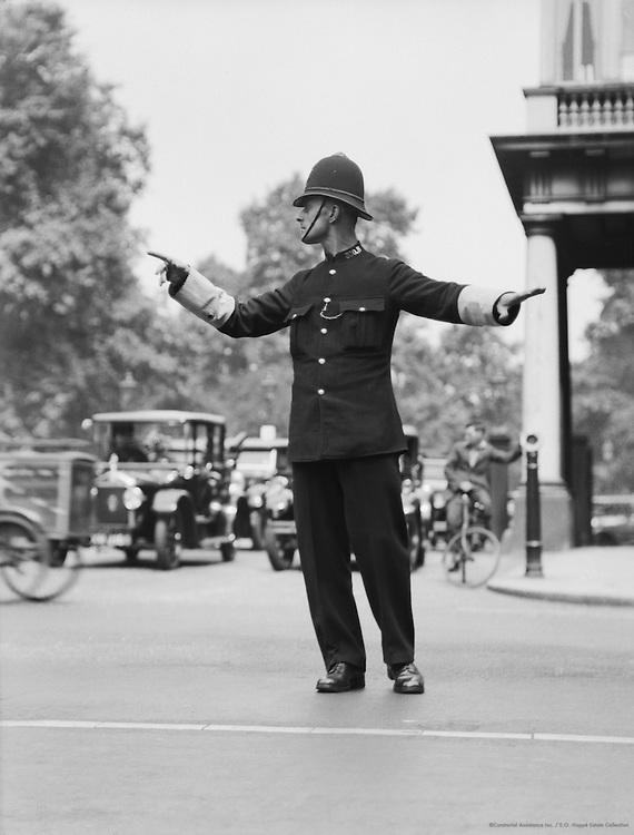 Policeman, London, 1933