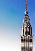 The Chrysler Building in New York City.