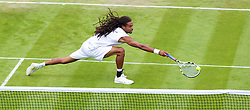 26.06.2013, Wimbledon, London, ENG, ATP World Tour, The Championships Wimbledon, Tag 3, im Bild Dustin Brown (GER) during day three of the ATP World Tour Wimbledon Lawn Tennis Championships at the All England Lawn Tennis and Croquet Club, London, Great Britain on 2013/06/26. EXPA Pictures © 2013, PhotoCredit: EXPA/ Propagandaphoto/ David Rawcliffe<br /> <br /> ***** ATTENTION - OUT OF ENG, GBR, UK *****