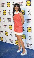 Nina Conti, British Comedy Awards, Fountain Studios, London UK, 16 December 2014, Photo by Richard Goldschmidt