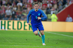 01-06-2016 POL: Polen - Nederland, Gdansk<br /> Oefenwedstrijd dat met 2-1 wordt gewonnen / Vincent Janssen (Holandia) scoort<br /> <br /> ***NETHERLANDS ONLY***