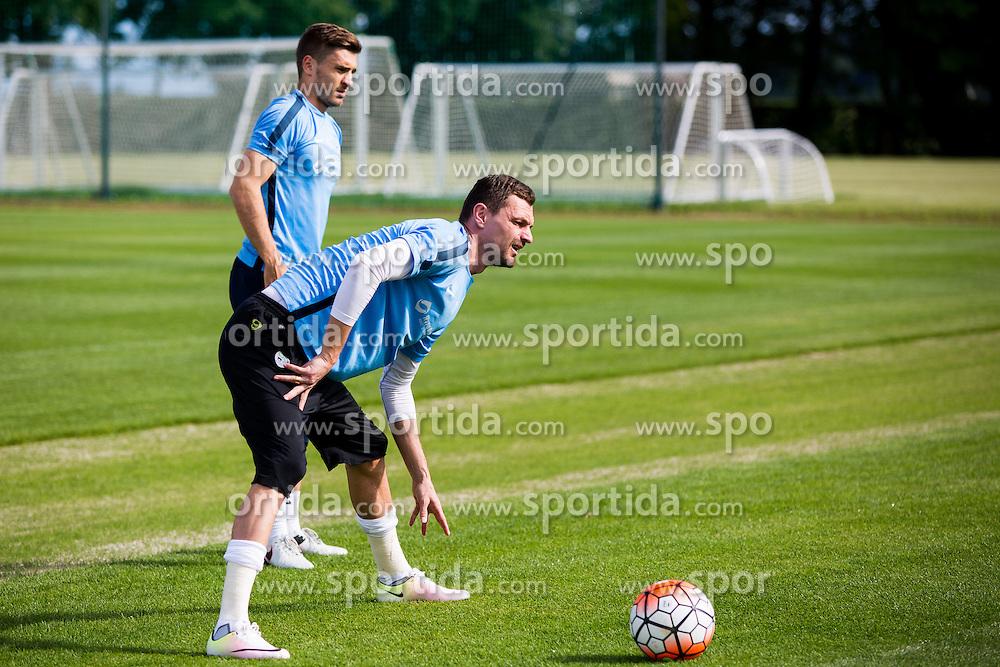 Milivoje Novakovic during practice session of Slovenian Football Team before friendly match against Turkey, on June 2, 2016 in Football centre Brdo pri Kranju, Slovenia. Photo by Ziga Zupan / Sportida