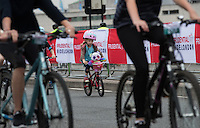LONDON UK 30TH JULY 2016:  Prudential RideLondon Freecycle, Waterloo Bridge.. The Prudential RideLondon FreeCycle event over closed roads around the city. Prudential RideLondon in London 30th July 2016.<br /> <br /> Photo: Eddie Keogh/Silverhub for Prudential RideLondon<br /> <br /> Prudential RideLondon is the world&rsquo;s greatest festival of cycling, involving 95,000+ cyclists &ndash; from Olympic champions to a free family fun ride - riding in events over closed roads in London and Surrey over the weekend of 29th to 31st July 2016. <br /> <br /> See www.PrudentialRideLondon.co.uk for more.<br /> <br /> For further information: media@londonmarathonevents.co.uk