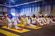 International Yoga Day Celebrations in Madrid Spain celebrated the Yoga Day with the Madrid Sivananda Teachers