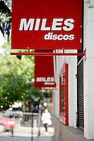 """LOCAL DE DISCOS """"MILES"""" EN EL BARRIO DE PALERMO VIEJO O SOHO, BUENOS AIRES, ARGENTINA"""