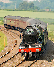 Flying Scotsman | Shropshire | 8 June 2016