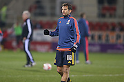 Middlesbrough forward Christian Stuani (18)  during the Sky Bet Championship match between Rotherham United and Middlesbrough at the New York Stadium, Rotherham, England on 8 March 2016. Photo by Simon Davies.
