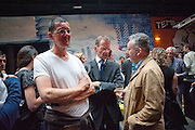 ANTONY GORMLEY; SIR NICHOLAS SEROTA; MICHAEL MORRIS, The Launch of Food for thought, Thought for Food, The Creative Universe of El Bulli's Ferran Adria. Edited by Richard Hamilton and Vincente Todoli. The double Club, 7 Torrens st. London EC1. 22 June 2009