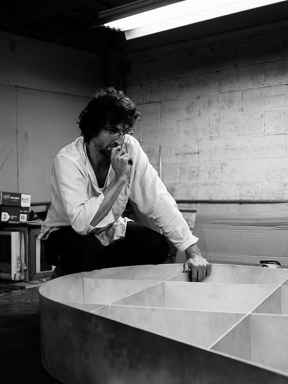 Maciej Markowicz, Artist - Brooklyn, 2015