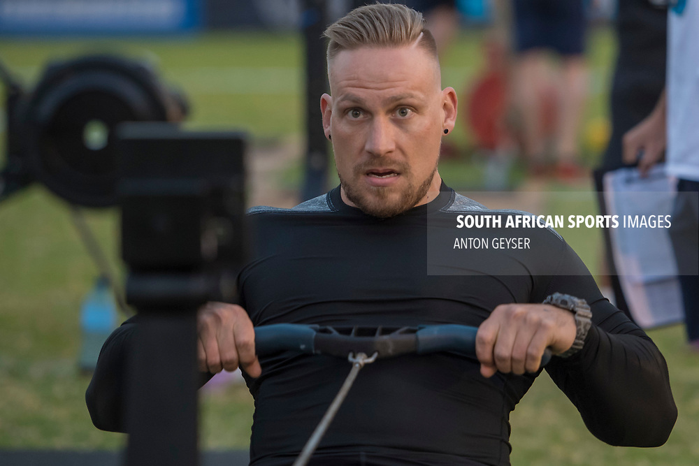 PRETORIA, SOUTH AFRICA - APRIL 28:  during the mens WOD 1 at the Pretoria Throw Down in Waterkloof High School on April 28, 2017 in Pretoria, South Africa. (Photo by Anton Geyser/Gallo Images)