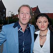 NLD/Amsterdam/20110925 - Benefietavond Red Sun Stichting Stop Kindermisbruik, Arjan Erkel en partner