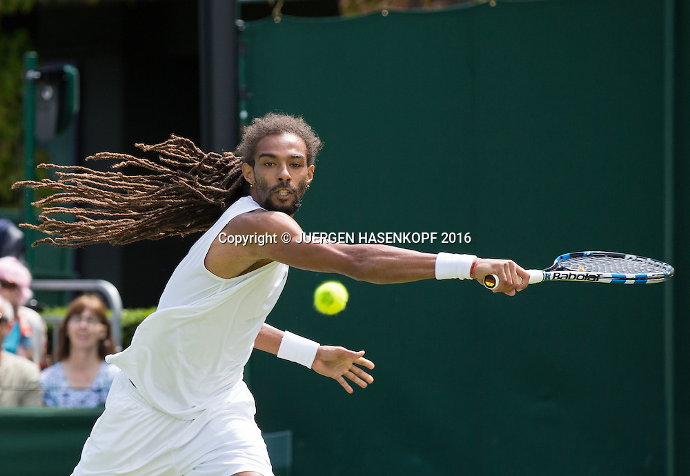 Dustin Brown (GER)<br /> <br /> Tennis - Wimbledon 2016 - Grand Slam ITF / ATP / WTA -  AELTC - London -  - Great Britain  - 28 June 2016.