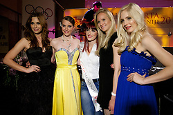 Girls during event Miss Sports of Slovenia 2012, on April 21, 2012, in Festivalna dvorana, Ljubljana, Slovenia. (Photo by Urban Urbanc / Sportida.com)