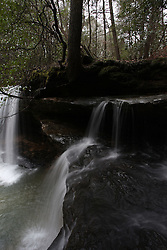 Bankhead Forest, AL - Upper Caney Falls, Turkey Foot Falls and Mize Mill Falls  Monday, March 12, 2012 at the Winston County .