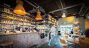 Bar kitchen PK is gevestigd in het oude postkantoor van Bilthoven.