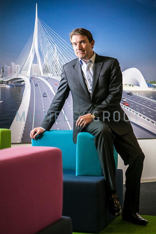 Erik van Oostwegel, CEO van Royal Haskoning DHV