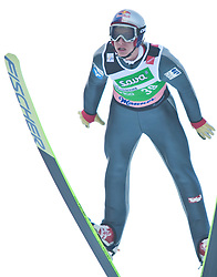 19.03.2010, Planica, Kranjska Gora, SLO, FIS SKI Flying World Championships 2010, Flying Hill Individual, im Bild Gregor Schlierenzauer, ( AUT, #39 ), EXPA Pictures © 2010, PhotoCredit: EXPA/ J. Groder / SPORTIDA PHOTO AGENCY
