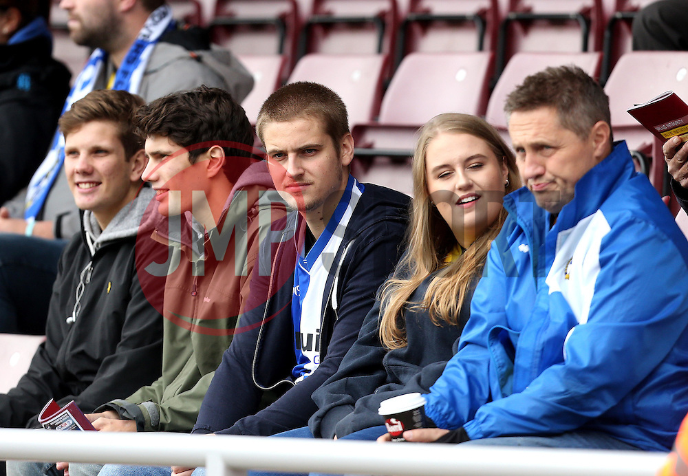 Bristol Rovers fans - Mandatory by-line: Robbie Stephenson/JMP - 01/10/2016 - FOOTBALL - Sixfields Stadium - Northampton, England - Northampton Town v Bristol Rovers - Sky Bet League One