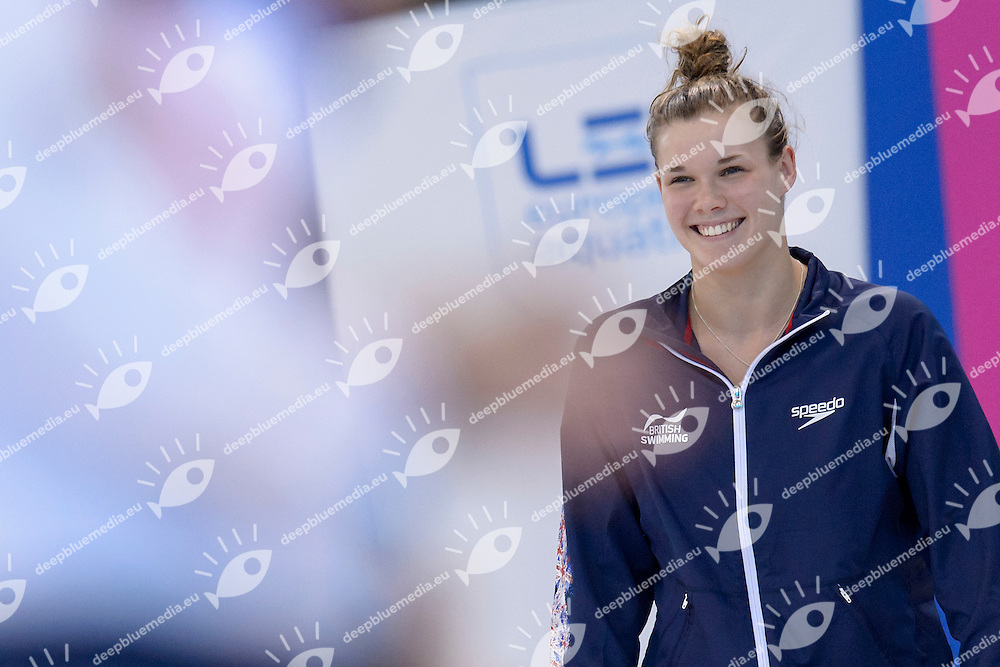 Grace REID GBR Great Britain Bronze Medal <br /> Women's 3m Springboard Final <br /> London, Queen Elizabeth II Olympic Park Pool <br /> LEN 2016 European Aquatics Elite Championships <br /> Diving  <br /> Day 06 14-05-2016<br /> Photo Andrea Staccioli/Deepbluemedia/Insidefoto