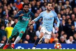 Bernardo Silva of Manchester City takes on Danny Rose of Tottenham Hotspur - Mandatory by-line: Robbie Stephenson/JMP - 17/04/2019 - FOOTBALL - Etihad Stadium - Manchester, England - Manchester City v Tottenham Hotspur - UEFA Champions League Quarter Final 2nd Leg