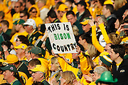 North Dakota State Bison fans filled more than half of the stadium during the FCS title game against Sam Houston State at FC Dallas Stadium in Frisco, Texas, on January 5, 2013.  (Stan Olszewski/The Dallas Morning News)