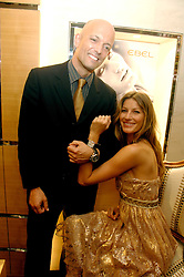 THOMAS VAN DER KALLEN President of Ebel Watches and GISELE BUNDCHEN at the launch party for the Mappin & Webb Regents Street branch at 132 Regent Street, London on 19th June 2007.<br /><br />NON EXCLUSIVE - WORLD RIGHTS