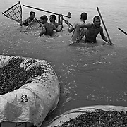 Collecting River Stones, Bangladesh