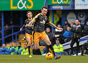 Cambridge United Forward Jimmy Spencer during the Sky Bet League 2 match between Portsmouth and Cambridge United at Fratton Park, Portsmouth, England on 27 February 2016. Photo by Adam Rivers.