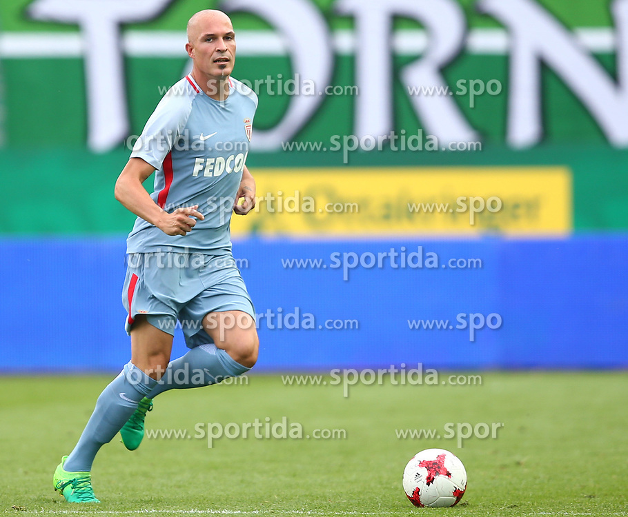 09.07.2017, Allianz Stadion, Wien, AUT, Testspiel, SK Rapid Wien vs AS Monaco, im Bild Andrea Raggi (AS Monaco) // during friendly Football Bundesliga Match, between SK Rapid Vienna and AS Monaco at the Allianz Arena, Vienna, Austria on 2017/07/09. EXPA Pictures © 2017, PhotoCredit: EXPA/ Thomas Haumer