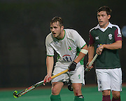 Canterbury against Surbiton in the NOW: Pension Men's Hockey League Premier Division, Polo Farm, Canterbury, Kent, 22nd November 2014.