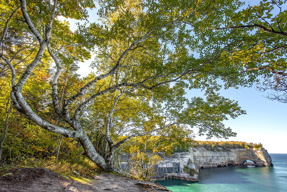 PICTURED ROCKS NATIONAL LAKESHORE - 2016: Photographer Bryan Mitchell was this years Artist in Residence at Pictured Rocks National Lakeshore in the Upper Peninsula of Michigan from Oct. 1-16, 2016 near Munising, Michigan. (Photo by Bryan Mitchell/Special to Detroit News)