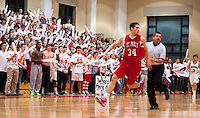 St Paul's School spirit at boys varsity basketball February 15, 2013.  Karen Bobotas for St Paul's School