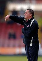 Photo: Glyn Thomas.<br />Rotherham United v Brentford. Coca Cola League 1. 15/04/2006.<br />Brentford boss Martin Allen.