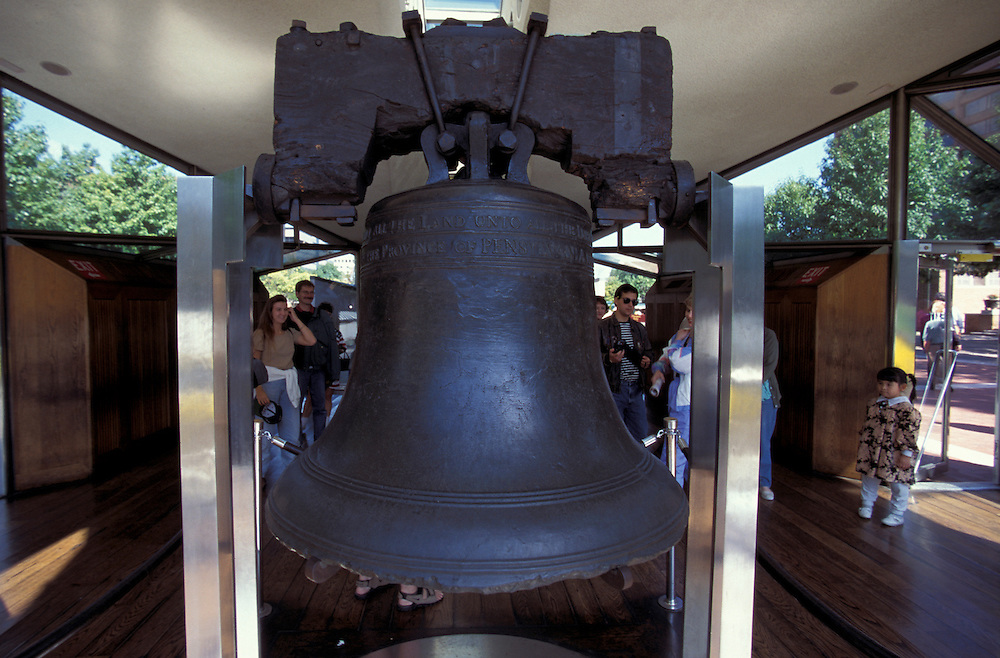 Libert Bell, Independence National Historical Park, Philadelphia, Pennsylvania, USA