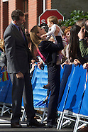 102514 Principes de Asturias Awards 2014 - Spanish Royals Visit Boal