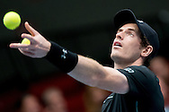 Andy Murray during the Tie Break Tens competition at the Erste Bank Open 500 at the Wiener Stadthalle, Vienna, Austria.<br /> Picture by EXPA Pictures/Focus Images Ltd 07814482222<br /> 23/10/2016<br /> *** UK & IRELAND ONLY ***<br /> <br /> EXPA-PUC-161024-0023.jpg