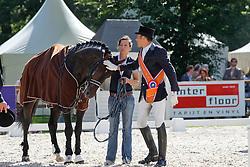 Van Lieren Laurens (NED) - Citango<br /> Nederlands Kampioenschap Dressuur <br /> Outdoor Gelderland - De Steeg 2010<br /> © Dirk Caremans