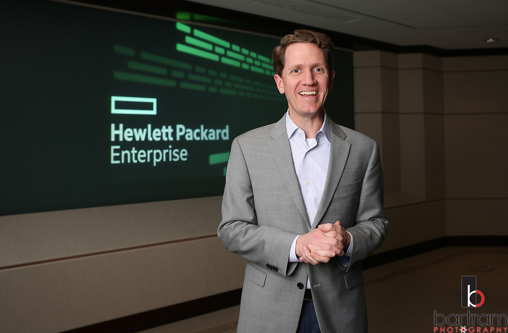 Hewlett Packard Enterprise campus in Plano, Texas on Wednesday, March 8, 2017. (Photo by Kevin Bartram)
