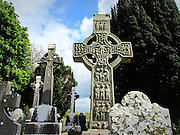 Muiredach's High Cross, Monasterboice, Louth, c.9th century a.d, (Curious Ireland Collection)