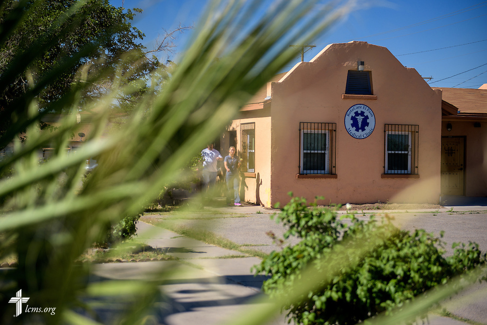 Exterior photograph of the RotaCare clinic, a free medical clinic sponsored by the Rotary Club of El Paso, on the campus of Ysleta Lutheran Mission Human Care in El Paso, Texas, on Saturday, May 21, 2016. LCMS Communications/Erik M. Lunsford
