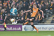 Hull City midfielder Sam Clucas (11) during the Sky Bet Championship match between Hull City and Milton Keynes Dons at the KC Stadium, Kingston upon Hull, England on 12 March 2016. Photo by Ian Lyall.